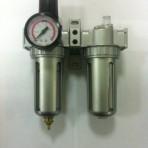 Levegőszűrő-olajzó-szabályozó-vízelválasztó készülék